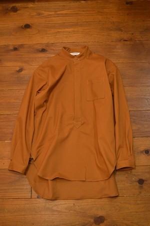 roundabout / Camoscio Stand Collar Shirt