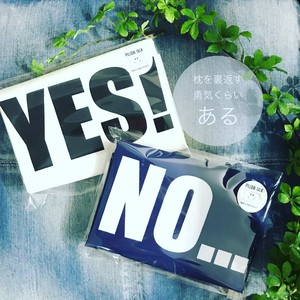 基本のYES/NO PILLOW CASE [NAVY]