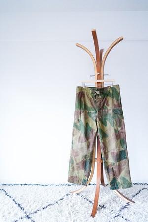 "【1950s, Patchwork】""M-56, Size 2"" Brush Stroke Camouflage, Belgium Army / v579"