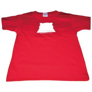 安全Tシャツ くまモンver. シルエット