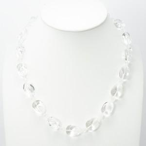 Silver 天然石 ネックレス 水晶 CrystalQuart 30012-000(N1524) NABZ売り切り