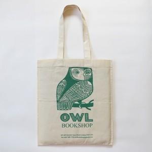 OWL BOOKSHOP/ふくろうコットンバッグ/エコバッグ・トートバッグ