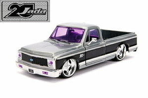 JADATOYS 20th Anniversary 20周年記念シリーズ1/24 ミニカー BIGTIME KUSTOMS 1972 CHEVY CHEYENNE