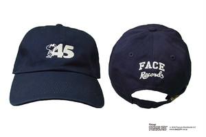 45'S CAP / NAVY × WHITE / SIZE FREE