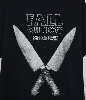 USED BAND T-shirt -FALL OUT BOY-