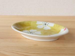 白ねこ しーちゃん 皿