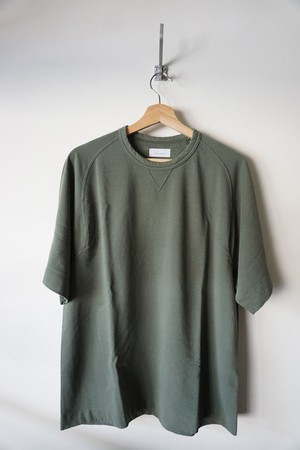 Fine Gauge Freedom Sleeve Sweat Shirt [ Khaki ]