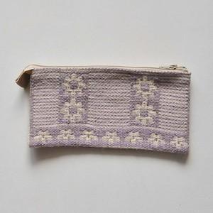 ポーチ ヤノフ村の織物 (A)