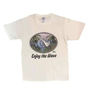 【沖縄から発送】【沖縄】Enjoy the Wave【Sunrise Okinawa】【デザイナーTamo】【コラボ商品】【南国】【海】【OkinawaLily】【北谷】