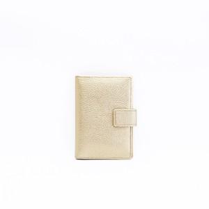 【B.stuff】カードケース /ゴールド