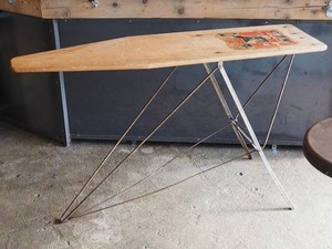 50's Folding Iron Table