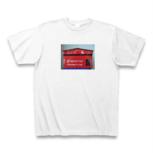 Tシャツ タイのポスト赤色タイプ ホワイト【送料込み】