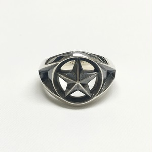 amp japan/Triangle Wire Star Ring -Wide-