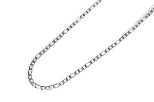【316L figaro chain necklace】 / SILVER