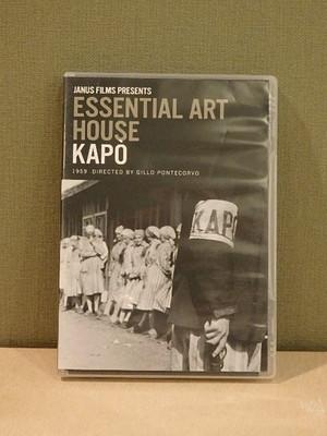 【dvd】ESSENTIAL ART HOUSE KAPO/ジッロ・ポンテコルヴォ(Gillo Pontecorvo)