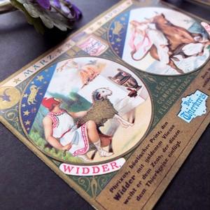 十二星座カード(牡羊座 牡牛座)