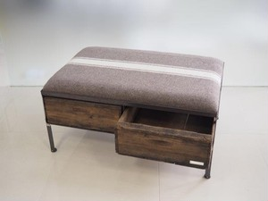 品番UEMW-116  2drawer ottoman[wide/European military blanket]