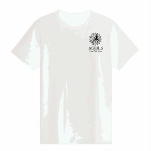 コットンTシャツ:ホワイト