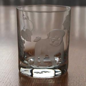 犬ロックグラス~「パグ」