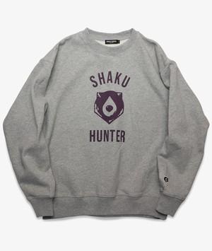 SHAKU-HUN BEAR LOGO SWEAT GRAY