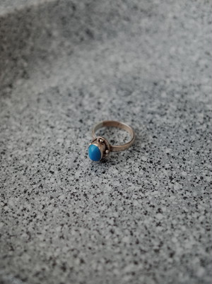 Used Blue top ring