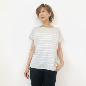 MICA&DEAL (マイカ&ディール) ペールボーダーTシャツ 0121209134