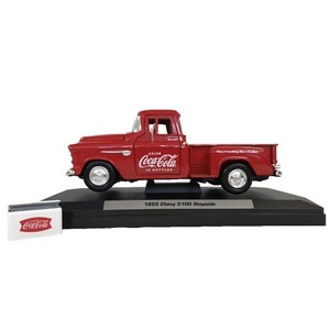 Coca-Cola Miniature Car Chevy Stepside Pickup 1/24スケール