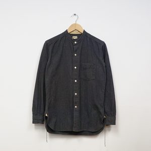 GRANDAD SHIRT (COTTON HOMESPUN)