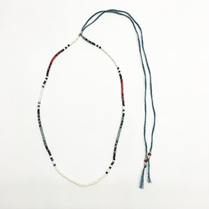 amp japan/Native Pattern Necklace -Sant Domingo-