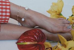 【Luiny】Perlitas Anklet bracelet