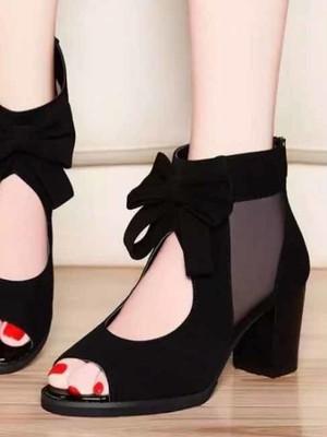 【shoes】 Ladies' chunky heel fashion sandals
