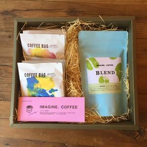 ブレンド100g&コーヒーバッグギフトボックス
