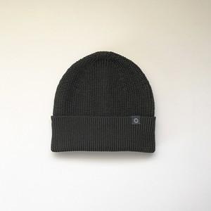 さらっとふんわりニット帽 Black