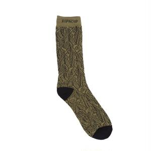 RIPNDIP - Safari Nerm Socks (Olive)