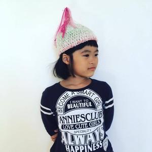 ベイビー★ユニコーン ピンク 虹色流れ星 S