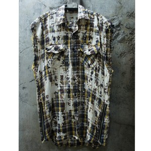 BREACHED CUT-OFF SHIRTS