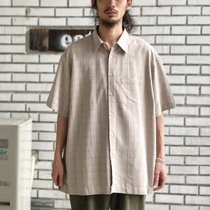 USED MODAL CHECK S/S SHIRTS