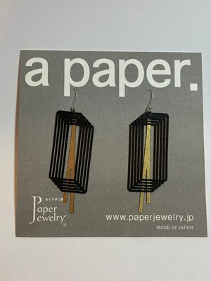 【Paper Jewely】ループ/ピアス