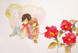 糸椿【A4サイズポスター】