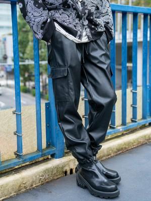 【MENS - 1 size】LEATHER CARGO / Black