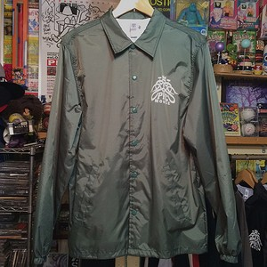 PICTURE MOUSE ■ COACH JACKET (DARK GREEN)