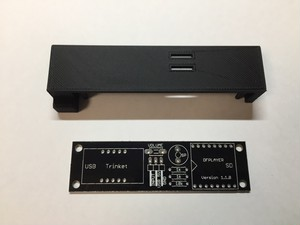 Nintendo Switchをちょっと楽しくするスイッチをつくるための基板とカバー(テスト品)