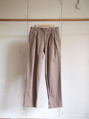 USED / COLOURS BY ALEXANDER JULIAN, 2tuck chino pants