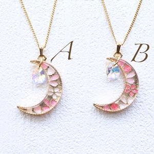 ⌘ Petit cherry moon ⌘ ネックレス