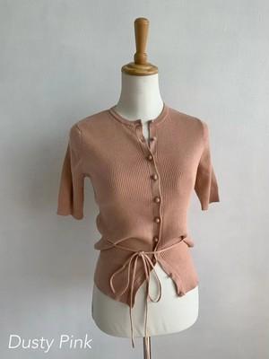 Bilitis dix-sept ans (ビリティス・ディセッタン)    Cotton Cardigan(Half Sleeve)