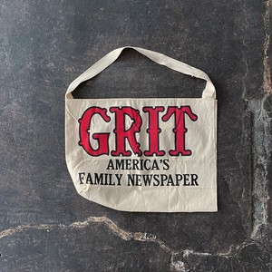 Vintage Grit newspaper bag dead stock