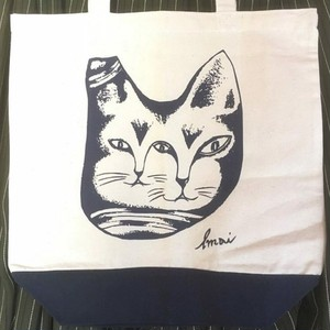 Double Faced Cat tote bag