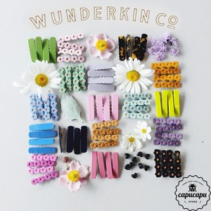 «sold out»«予約準備中»wunderkin co  hair clips ver.1  ヘアクリップ
