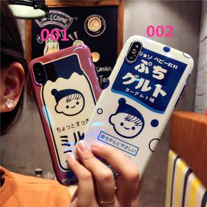 和風 iphone8 plus人気カバー original 可愛い 男女通用 ユニーク イラスト オリジナル アイフォンXケース 芸能人愛用 ソフトカバー