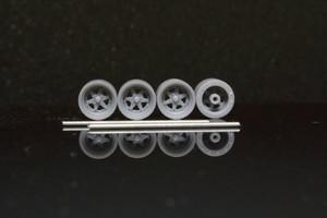 7mm ロンシャン XR-4 タイプ 3Dプリント ホイール 1/64 未塗装